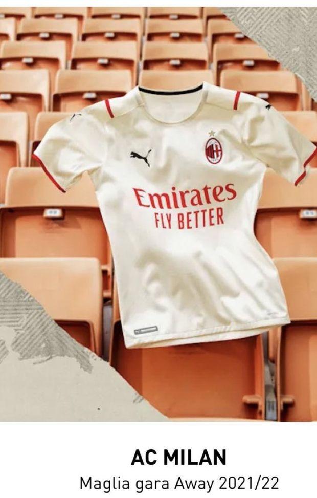 Milan, la Puma svela la seconda maglia: ecco l'immagine sul sito ...