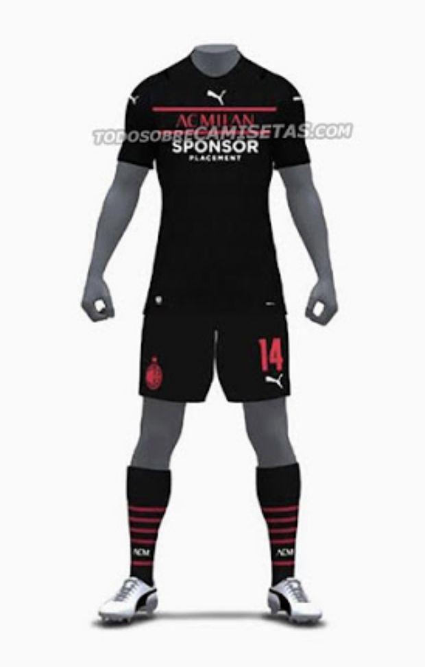 Nuova terza maglia Milan 2021-2022: le clamorose anticipazioni ...