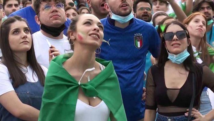 Europei 2021 – Italia-Galles 1-0: la sfida vissuta dai tifosi | VIDEO -  Pianeta Milan