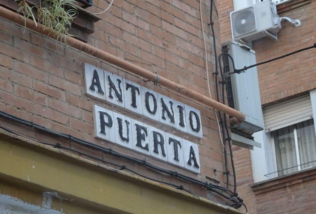 Calle Antonio Puerta