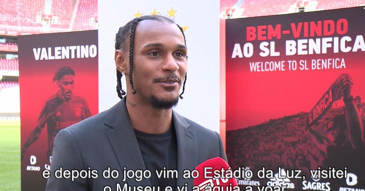 """Lazaro: """"Il Benfica mi ha voluto fortemente, qui voglio vincere dei titoli. Joao Mario…"""""""