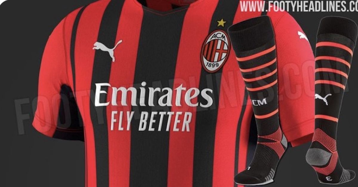 Milan 2021-2022, le anticipazioni sulla nuova prima maglia e sui ...