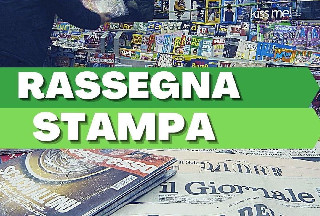 Rassegna Stampa quotidiani: le prime pagine dei giornali sportivi (e non) in edicola oggi