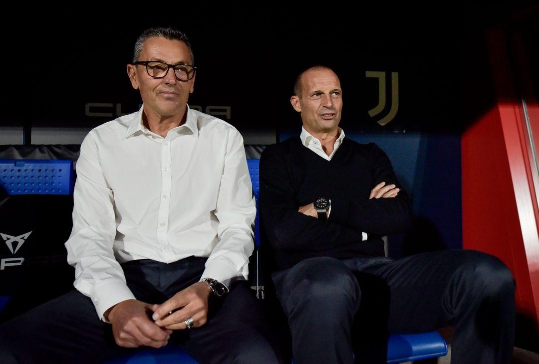 Massimiliano Allegri e Marco Landucci