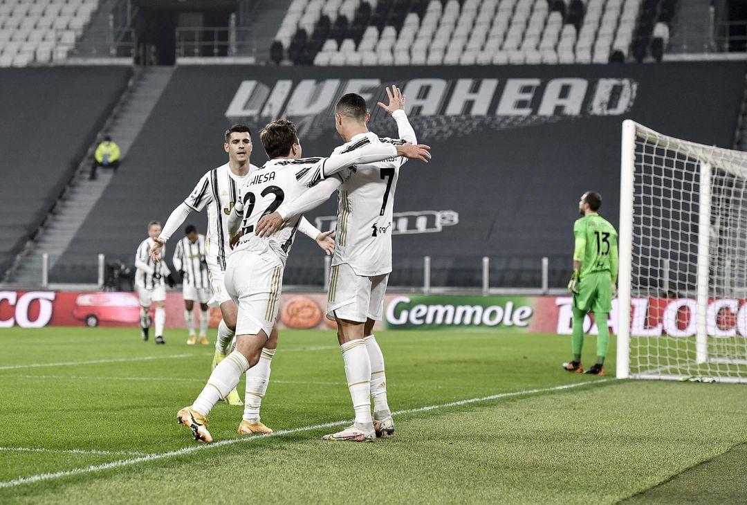 Cristiano Ronaldo e Federico Chiesa