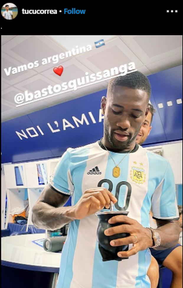 Lazio, Bastos e la maglia dell'Argentina di Correa – FOTO ...