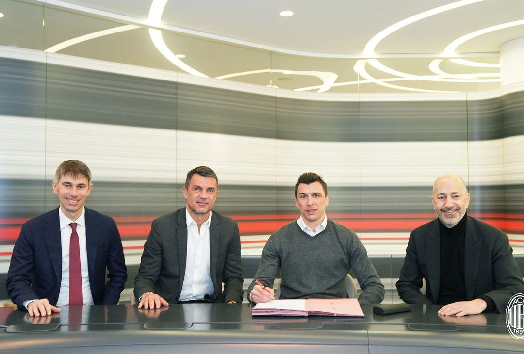 Mario Mandzukic, nuovo attaccante del Milan   Calciomercato AC Milan News (acmilan.com)