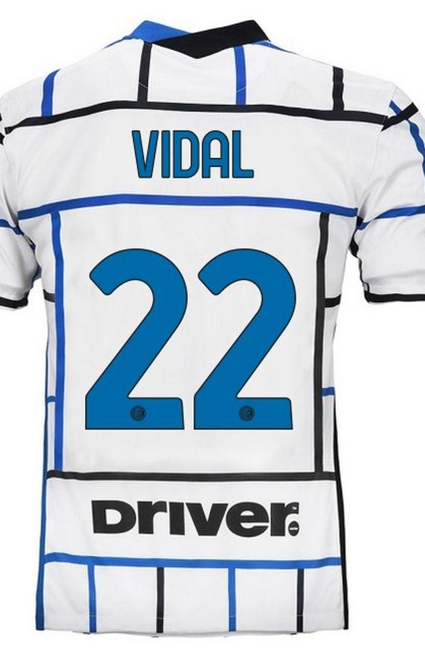 Inter, UFFICIALE: ecco il numero di maglia scelto da Vidal - FC ...